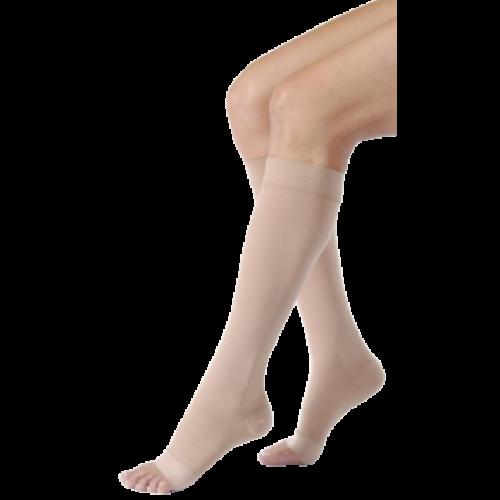 Jobst Relief Knee-High Open-Toe Compression Socks 30-40 mmHg