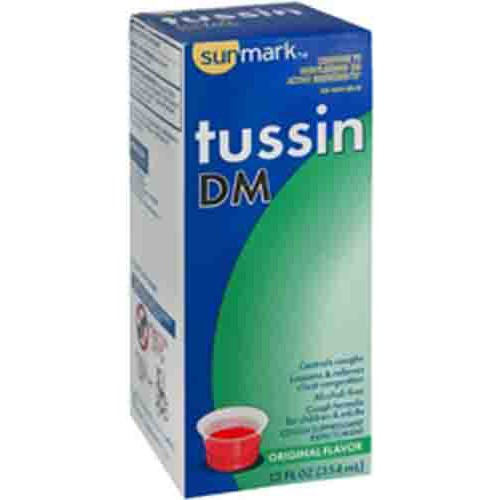 Sunmark Tussin DM Cough Syrup