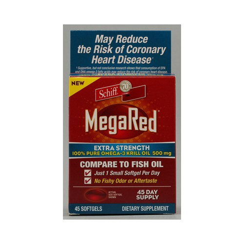Schiff Vitamins Schiff MegaRed Extra Strength Omega 3 500 mg