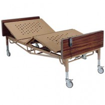 15300 Bariatric 42 Inch Wide Full Electric Hospital Bed, 600 Pound Capacity