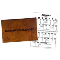 Low Vision 18-Month Wall Calendar