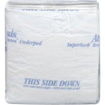 Attends Supersorb Breathable Disposable Underpads