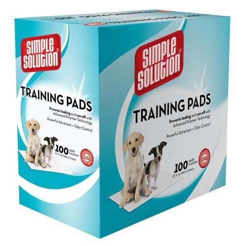 simple solution large pet training pads 774