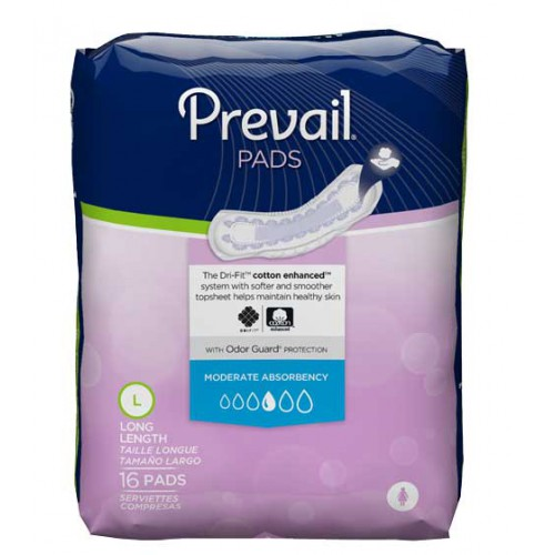 Previal Pads Long Length