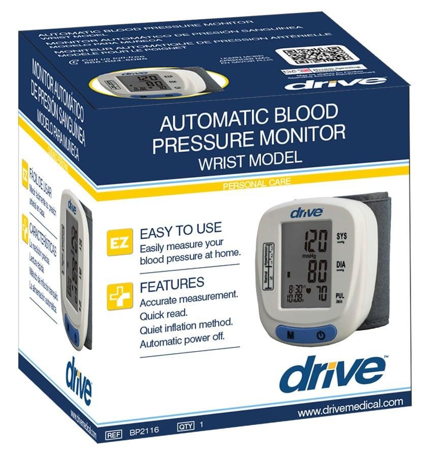 automatic blood pressure monitor wrist model 7ed