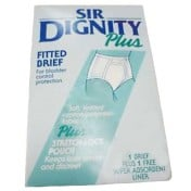 Sir Dignity Plus Briefs Moderate Absorbency