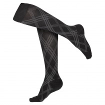Women's Argyle Compression Socks 15-20 mmHg
