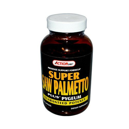Action Labs Super Saw Palmetto Plus Pygeum Dietary Supplement