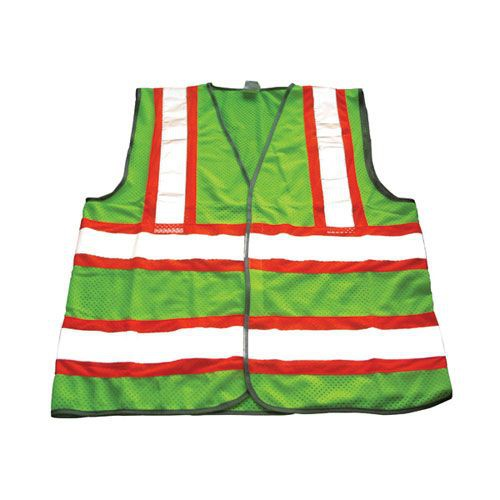 ProWorks Reflective Safety Vests, Class II Rated - Mesh