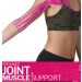"""TheraBand 2"""" x 16.4' - Pink/White Print Kinesiology Tape Standard Roll"""