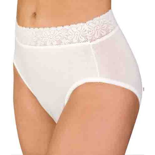 Women's Lace Trim Incontinence Panties