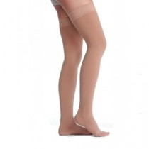 Juzo Soft 2001 Garter Style Thigh High Compression Stockings 20-30 mmHg