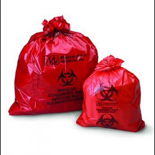Biohazard Waste Bag 23 x 23 Inch