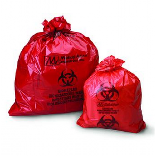 Biohazard Waste Bag 23 X Inch