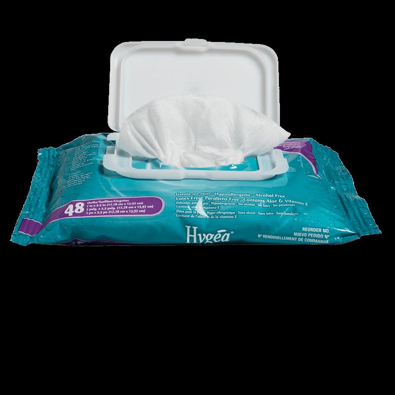 Hygea Flushable Personal Cleansing Cloths 5 5 Quot X 7 Quot Wipes