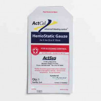 ActCel 2 x 4 Inch Topical Hemostatic Dressing Gauze, Sterile - 79301
