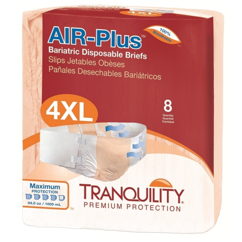 TranQuility Air Plus Bariatric Brief 4X-Large