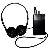 Oval Window HLR III Induction Loop Receiver with Headphones