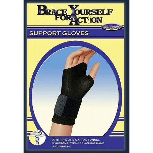 Bell-Horn Fingerless Support Glove