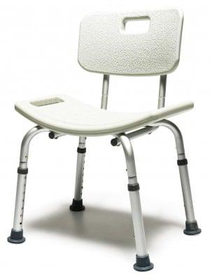 knock down bath seat w backrest 57b