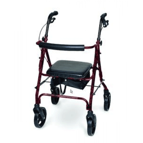 Invacare Supply Group Deluxe Aluminum Rollator