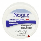 Nexcare Micropore Paper Tape 530P12 | 1/2 Inch x 10 Yards by 3M
