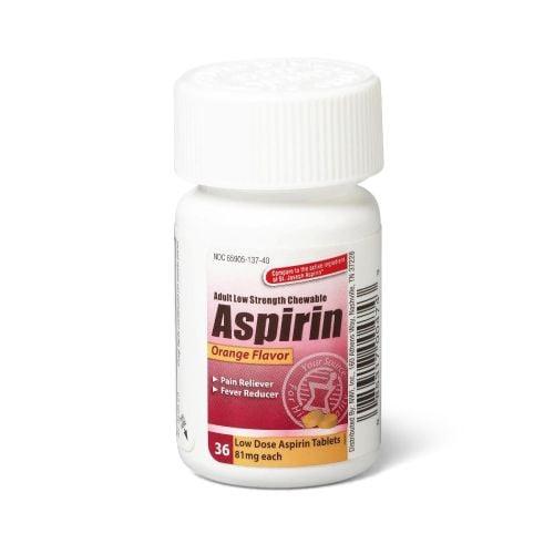 Aspirin Chewable Tablets