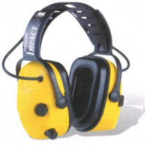 SPERIAN Impact 707 Electronic Over-the-Head Earmuff