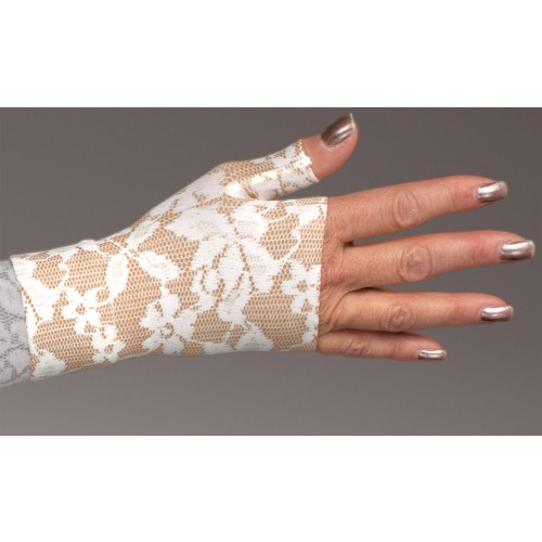 LympheDivas Darling Tan Compression Gauntlet 20-30 mmHg