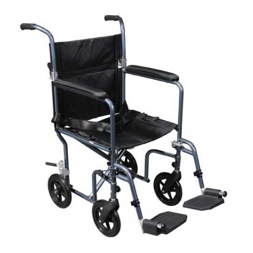 Flyweight Transport Wheelchair Lightweight with Removeable Wheels by Drive