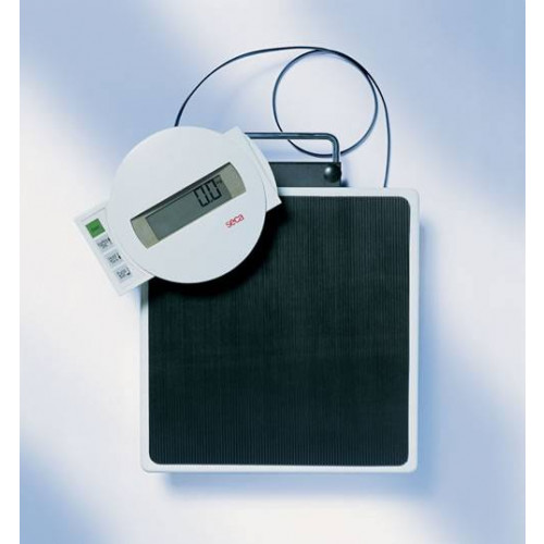 Seca Digital Floor Scale with cable remote control and BMI function 869