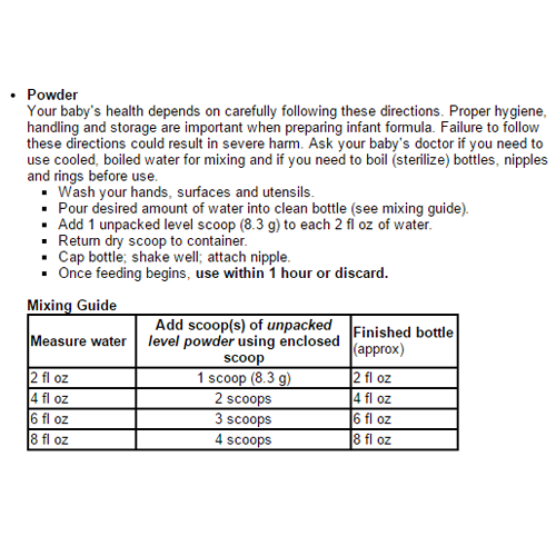 similac sensitive infant formula w iron 7d1