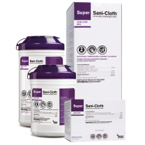 PDI Super Sani-Cloth Germicidal Disposable Wipes | Canister or Packets