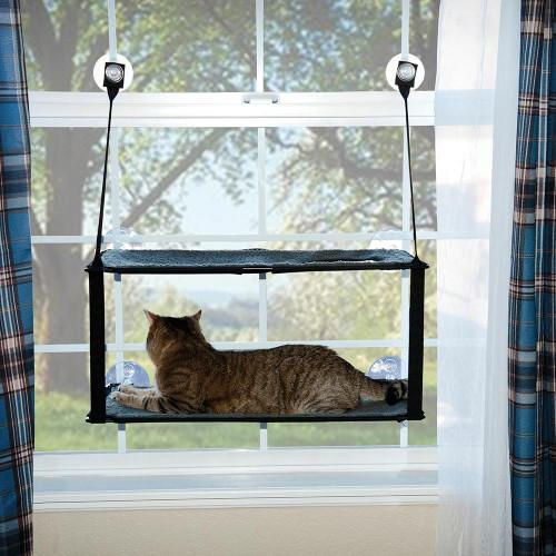 K&H Double Stack EZ Window Mount Kitty Sill