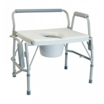 Lumex Imperial Collection Bariatric Steel Drop Arm Commode