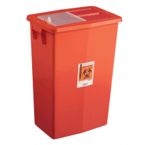 12 Gallon Red Multi-Purpose Sharps Container with Slide Lid 8935