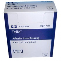 Covidien Telfa 7550 Island Dressing