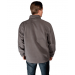 Grey Fleece Heated Jackets For Men Back