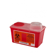 4 Quart Red Sharps-a-Gator Sharps Container with Chimney Top 8881676236