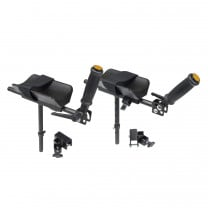 Drive Forearm Platforms and Mounting Brackets for Adult Anterior Safety Rollers