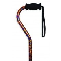 Paisley Mountain Properties Offset Handle Adjustable Aluminum Cane