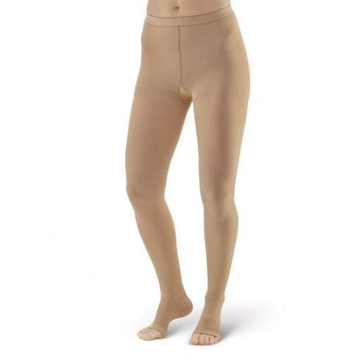AW Style 307 Medical Support Open Toe Pantyhose - 30-40 mmHg