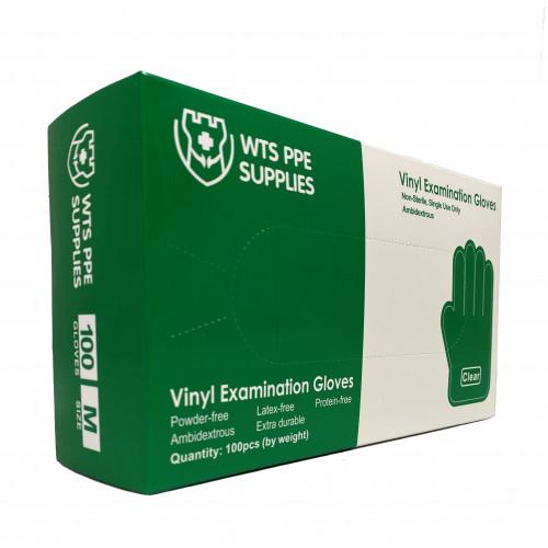 vinyl exam gloves WTS