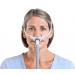 Swift™ FX Nasal Pillows - Woman Front View