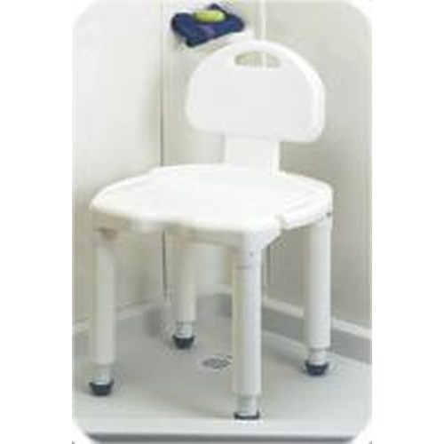 Universal Bath Bench with Back by Carex