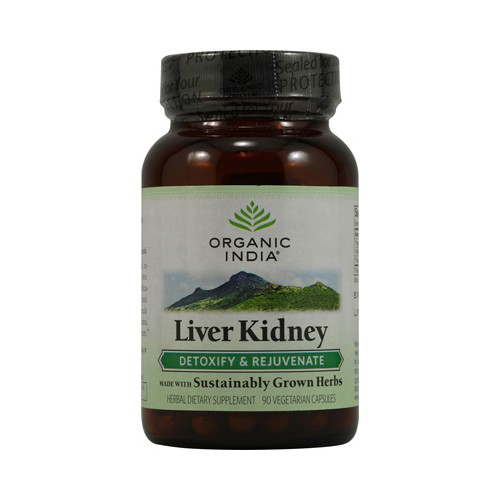Organic India Liver Kidney Detoxify and Rejuvenate
