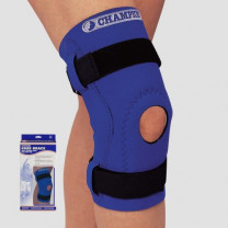 Neoprene Knee Support with Hinged Bars and Hor-Shu Pad