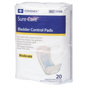 SureCare Bladder Control Pads - Moderate Absorbency