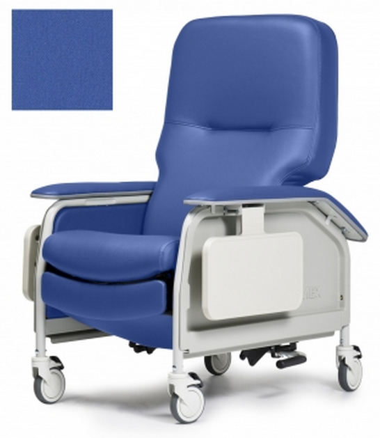lumex deluxe clinical care geri chair recliner with tray e4e