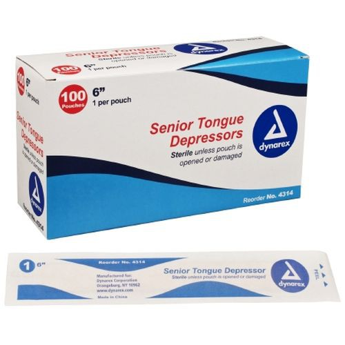 Senior Tongue Depressors